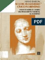 BARON, Hans En Busca del Humanismo Cívico Florentino.pdf