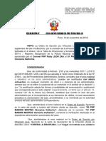 RESOLUCION DE ERROR MATERIAL 30714
