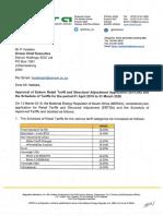 20190313 Letter Eskom ERTSA Decision