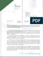 Odpoveď Ministerstva životného prostredia SR združeniu Čremošná ...