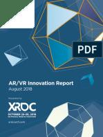 Innovación Realidad Virtual y Aumentada