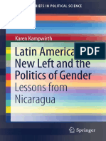 Latin America's New Left and the Politics of Gender Lessons From Nicaragua