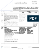 Planificacion Academica Primer Lapso Tercero