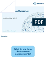 KPI´s and performance management GC