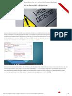 Aprenda Remover Vírus Do PC de Forma Fácil e Profissional _ Sayro Digital