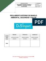MDC-RGL‐SSMA-01 REGLAMENTO INTERNO SSMA.DOCX