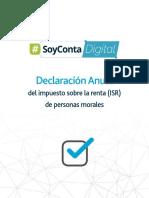 Checklist Declaracion Anual Isr Personas Morales