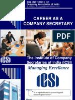 Final Career as a Company Secretary