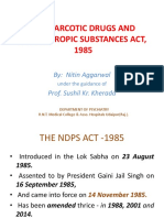 NDPS Act 1985 Ppt