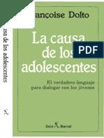 001 DOLTO La Causa de Los Adolescentes