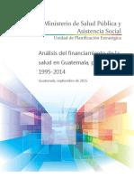 Financiamiento de la salud en Guatemala.pdf