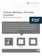 Venus Medsys Private limited