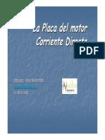 Placa de motor Dc