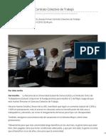 09-04-2019 - UES y Sutues Firman Contrato Colectivo de Trabajo - Uniobregon.com