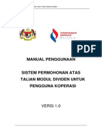 Manual Pengguna Dividen