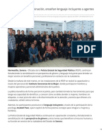 09-04-2019 - A fin de evitar discriminación enseñan lenguaje incluyente a agentes de PESP - Tribuna.com.mx