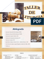 Taller de Liturgia Diapositivas Power Point