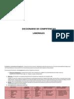 Competencias a Evaluar - Entrevista