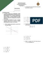 Prueba de Eficacia Matematicas Grado Decimo