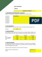 Modelo Financiero para proyectos
