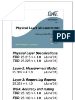 Physical Layer Measurements