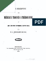 Notice Descriptive Des Mereaux Trouvés