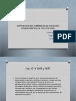 DEFINICION DE ELMENTOS DE ESTAODS FINANCIEROS LEY 1314.pptx