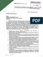 Ley que modifica la Ley Orgánica de Gobiernos Regionales y la Ley Orgánica de Municipalidades para fortalecer la fiscalización y control por los consejos regionales y concejos municipales