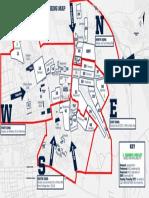 2019 Stadium Parking Map