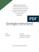La Geología Estructural