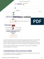Perceuse Radiale _ Choix Et Prix - Ooreka