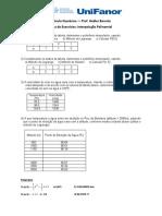 Lista de Exercícios Interpolação