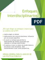 Enfoques Interdisciplinario y Método Experimental Para El Análisis de