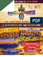 Programa Pachamama Raymi 2019 #ZamoraChinchipe