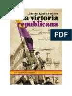 Niceto Alcalá Zamora, la victoria republicana