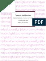 Proyecto de Literatura- El Guardián Entre El Centeno