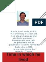 Simón Méndez Ferrer Biography