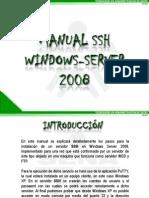 Manual Ssh Windows Server 2008 La Red 38110