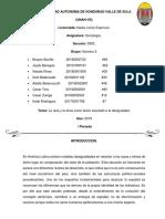 Informe Sociologia Grupo #3... UNAH-Vs-1