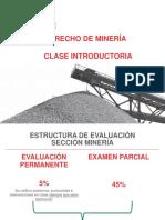 Clase No. 1 - Derecho de Minería - 2018