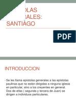 Epistolas Generales. Santiago.