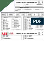 FORM SEG 108 2018 Indicadores de SST