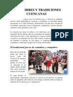 Costumbres y Tradiciones Cuencanas