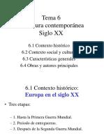 Contexto Histórico Siglo XX