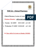 Clinical Pharmacy Lecture of Monday.docx