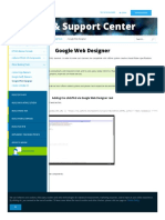 Support Adform Com Documentation Build Html5 Banners Other Building Tools Google Web Designer