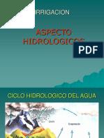 ASPECTOS HIDROLOGICOS
