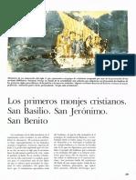 02 Los Primeros Monjes Cristianos San Basilio San Jerónimo San Benito 29a50 Historia Del Mundo Pijoan Salvat T 5 1970