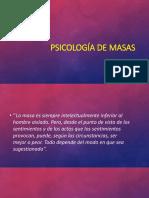 Psicología de Masas