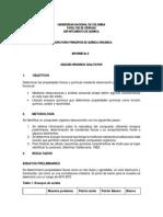 Informe 5 analisis organico